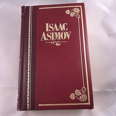 Isaac Asimov Masters Library 1984 Leather Bonded Hard Cover Science Fiction