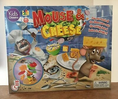 Mouse Cheese Stacking Kids Children/'s board game stocking filler xmas Toy gift