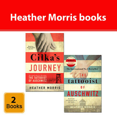 Heather Morris 2 Books Collection Set Tattooist of Auschwitz, Cilka's Journey