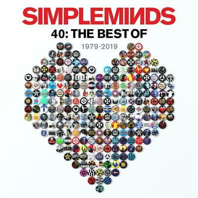 Simple Minds - 40: The Best Of 1979-2019 Cd New Mint Mint Pre-Order 1.11.2019