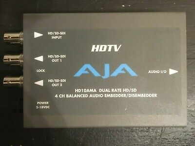 AJA HD 10AMA Analog Audio Embedder
