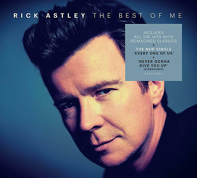"RICK ASTLEY ""THE BEST OF ME"" HITS & REIMAGINED CLASSICS 2CD Released 25/10/2019"