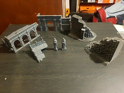 The Lord Of The Rings LOTR The Hobbit OSGILIATH RUINS STATUES GONDOR PLUS EXTRA