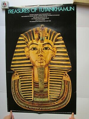 Treasures of Tutankhamun Poster (Metropolitan Museum of Art, 1976)