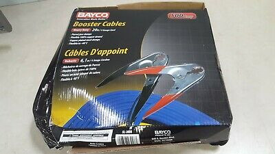 Bayco SL-3008 20' Booster Cable - Extra Heavy-Duty - 500 amp
