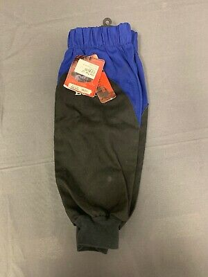 1 pr Revco BX9-19S-RB BSX Reinforced Fire Resistant Welding Sleeves Blue//Black