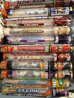 Cyclone Pre-Rolled Clear Cones  8 TUBE PACK  - 8 BIG FLAVOURS