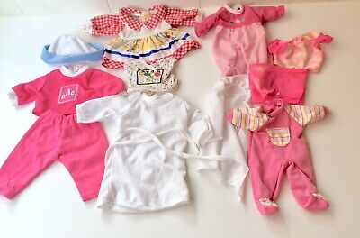 Vintage Bulk Baby Doll Clothes x 11 - Outfits - Clothing
