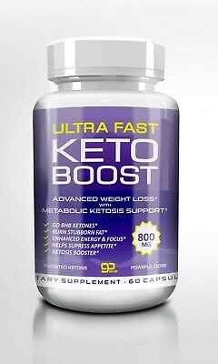 ULTRA  KETO BOOST, ADVANCE KETONES  NATURAL BHB, 60 Caps
