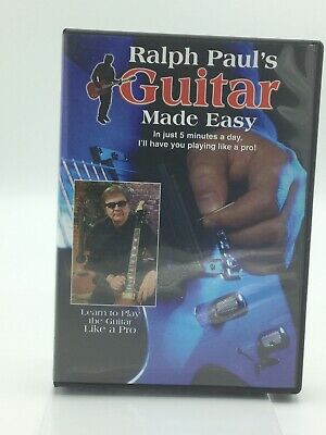 Ralph Paul's Guitar Made Easy -8 Disc Deluxe Set (DVD)