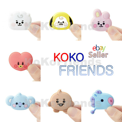 BTS BT21 Official Cute Baby Character Silicone Magnet KPOP Goods Authentic Item