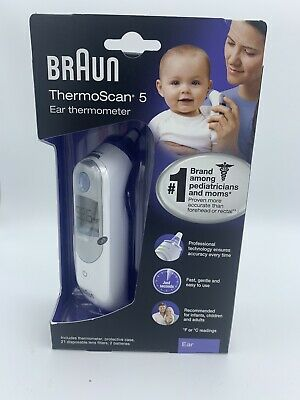 Braun ThermoScan 5 Ear Thermometer IRT6500 Fast Gentle & Easy To Use BRAND NEW