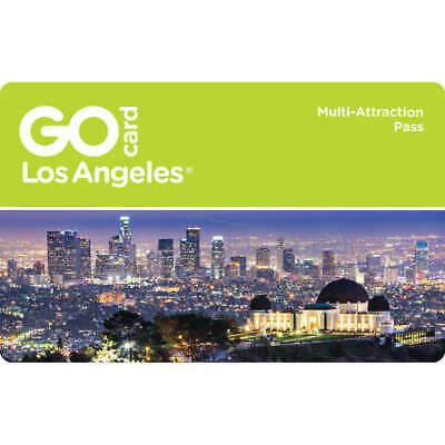 Go Los Angeles Card 1 2 3 5 7 Day Pass Discount Promo Savings Tool