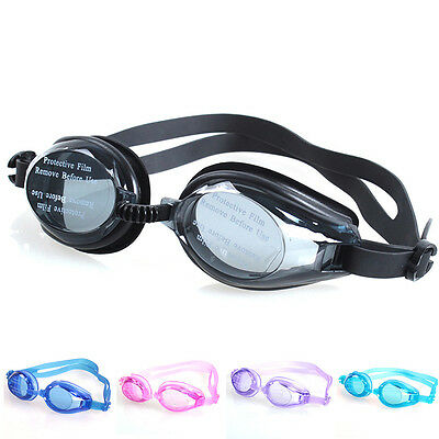 Kids Swimming goggles pool  glasses child childrens boy girl nose & ear plug PW