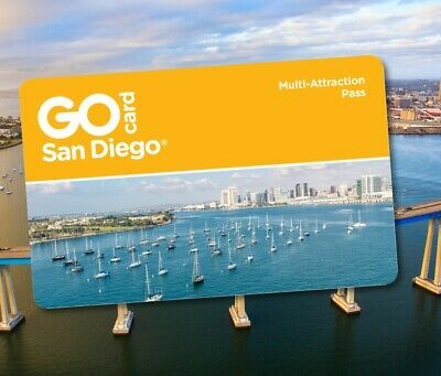 Go San Diego Card 3 5 7 Day Pass Discount Promo Savings Tool