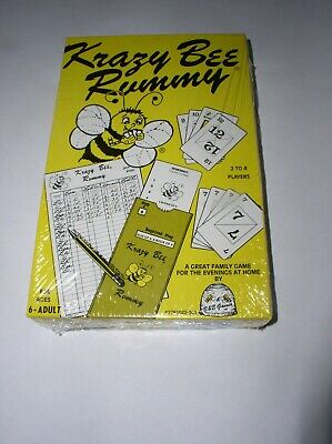 Krazy Bee Rummy 1983 Classic Card Game