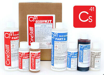 "CINESTILL : C41 KIT DE TRAITEMENT COULEUR ""Simplified Quart Kit"""