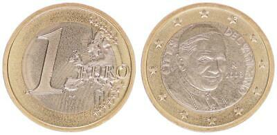 Vatican 1 Currency Coin with Papstmotiv