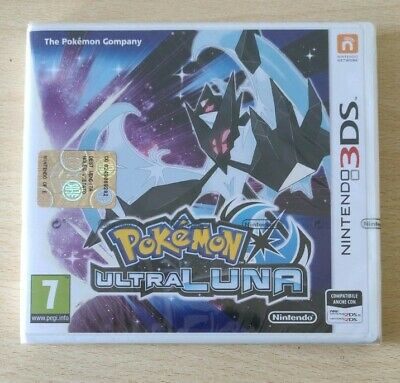 Pokemon Ultraluna Nintendo 3Ds 2Ds Italiano Nuovo Sigillato New