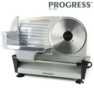 Progress EK3600P Electric Food Slicer, Stainless Steel, 150 W