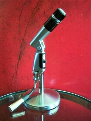 Vintage 597ms Shure Brothers 545 S Dinamico Cardioide Microfono SM57 SM56 2