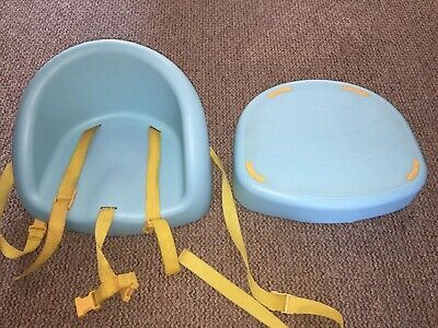 mothercare Kids blue high chair table booster Feeding Seat