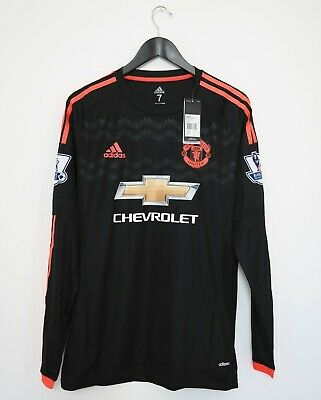 Manchester United Away/3rd Adizero Player Issue / Spec Shirt Size 7 2015/2016