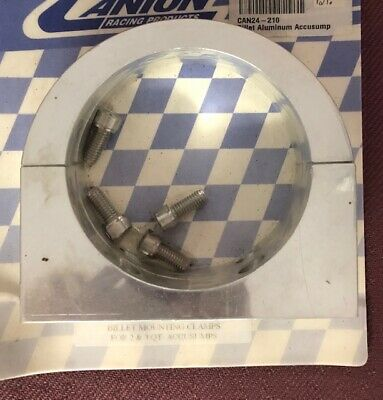ACCUSUMP Mounting Clamps Canton Racing # 24-210