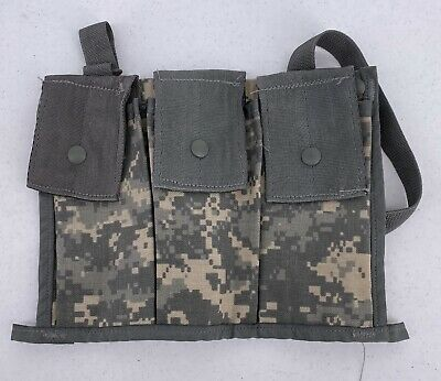 MOLLE II 6 Mag Bandoleer Ammo Pouch ACU Camo US MIlitary Army Surplus EXC