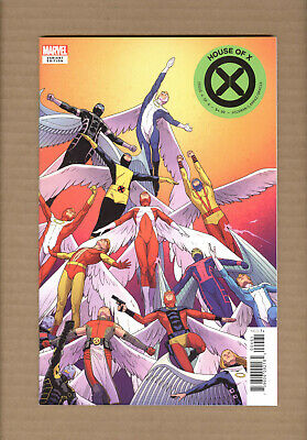 Marvel House Of X #4 Character Decades Variant 2019 NM