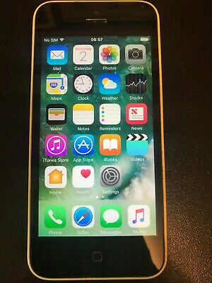 iphone 5c 8gb a1507 used very good condition (yellow) FULLY WORKING AND UNLOCKED
