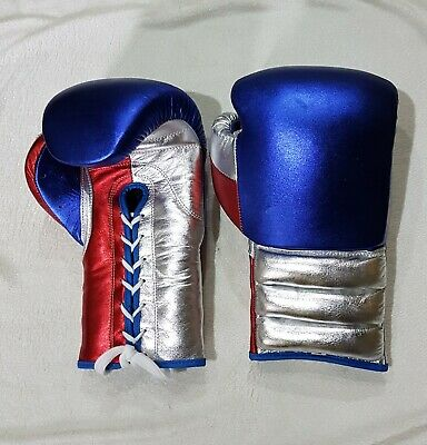 """New Custom Made /""""Mexican Style/"""" Boxing Glove Any /""""/""""--Reg--/""""/"""" Logo Or Name"""