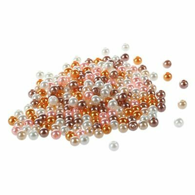 200PCS 5MM Bright Pears Spacer Loose Beads Jewelry Making multicolor C9I1