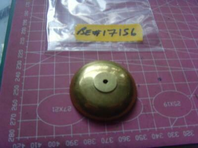 ref:be#17156 small french carriage? clock bell  43mm od