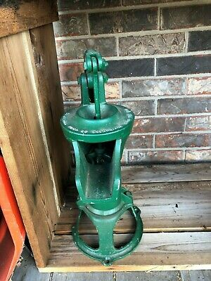 ANTIQUE Cast Iron Columbiana Pitcher Pump