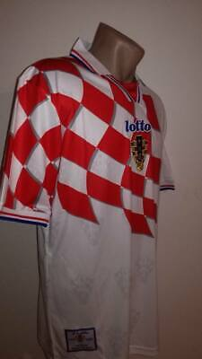 CROATIA Retro Football Jersey HRVATSKA Trikot Soccer Shirt Maglia World Cup 1998