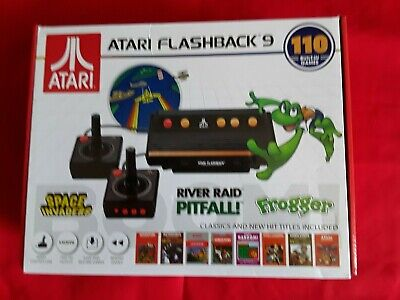 Atari Flashback 9 Mini Video Game Console With 110 Built-In Games (Nib)