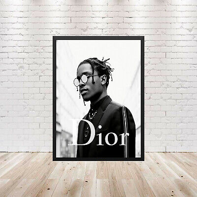 ASAP Rocky Dior Poster Wall Art Maxi Print New Fashion Art-1722