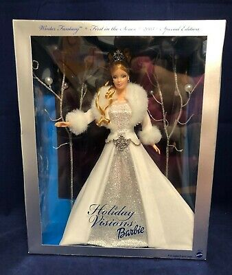"""Holiday Visions 2003 Barbie - Special Edition 1st In Series """"Winter Fantasy"""