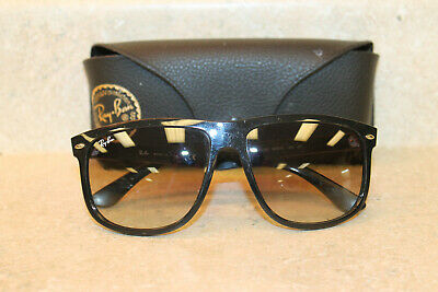Ray-Ban RB4147 601/32 Black Crystal Gray Gradient Sunglasses *USED*  FREE SHIP