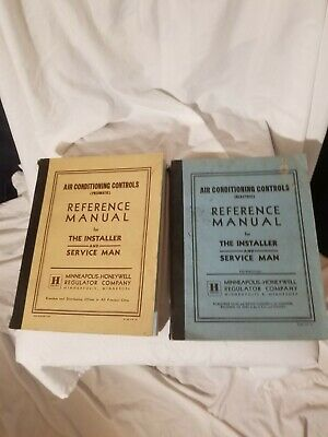Honeywell Air Conditioning Controls Manuals/ Pneumatic, Electrical 1950's