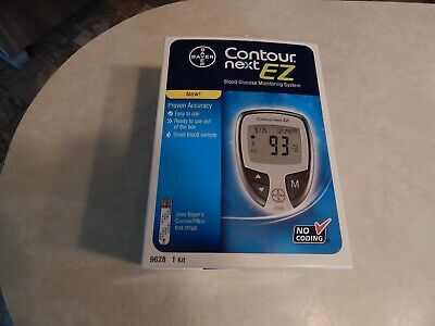 Contour Next EZ Blood Glucose Monitoring System New in Box