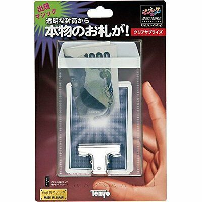 Tenyo MAGIC Trick CLEAR SURPRISE JAPAN Japan new .