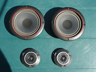 Jensen Mid Range Speakers 8 Ohm + Pioneer Tweeters 6 Ohm - Home Audio