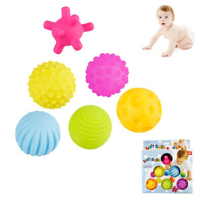 6 X Ball Pit Balls Play Kids Plastic Baby Ocean Soft Toy Colourful Playpen Play