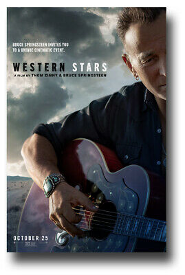 """Bruce Springsteen Poster 11""""X17"""" Western Stars SHIPS SAMEDAY FROM USA"""