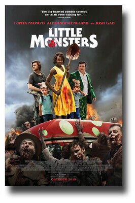"Little Monsters Movie Poster - 11""x17"" 2019 On Bus SameDay Ship from USA"