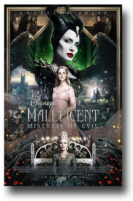 """Maleficent Poster - 11""""x17"""" 2 Mistress Evil All3Cetered  SameDay Ship from USA"""