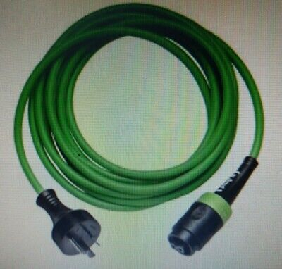 Festool HEAVY DUTY PUR PLUG-IT CABLE 4m Green Rubber Insulated *German Brand