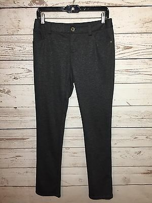 Alice + Olivia Womens Dark Gray Stretch Skinny Dress Pants Trousers Size 6